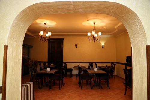 Кафе европейской и азиатской кухни. Гостиница Классик Пятигорск